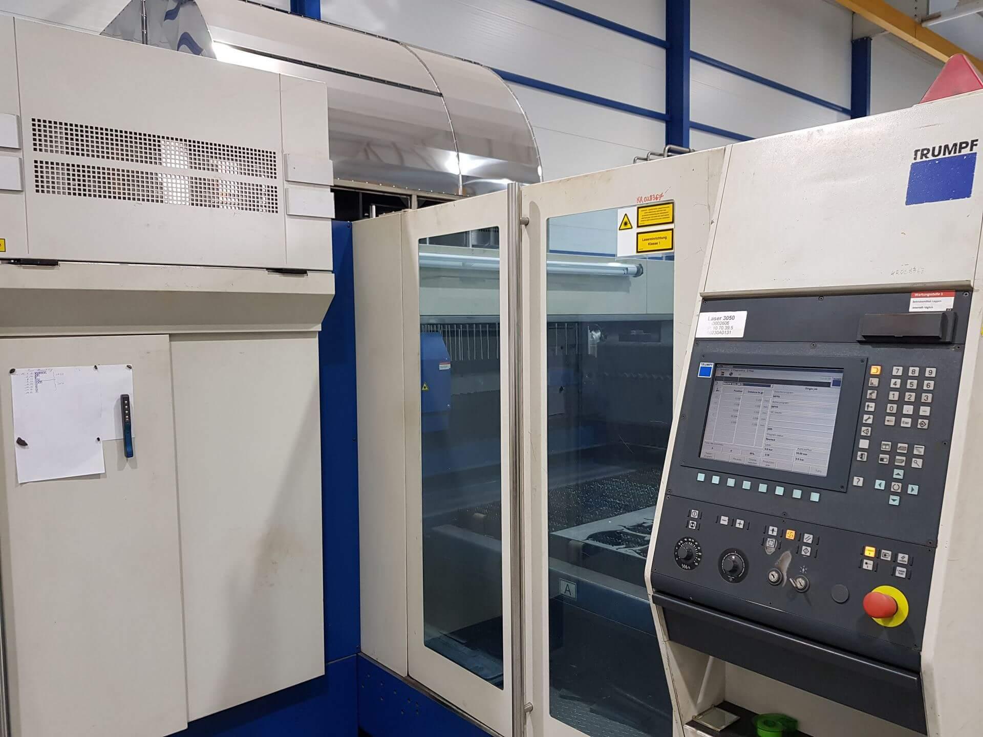 Trumpf Trumatic L3030  (Deutscher Laserkomplex)