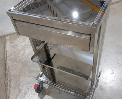 Stainless steel medical table - сделано в GROMOV