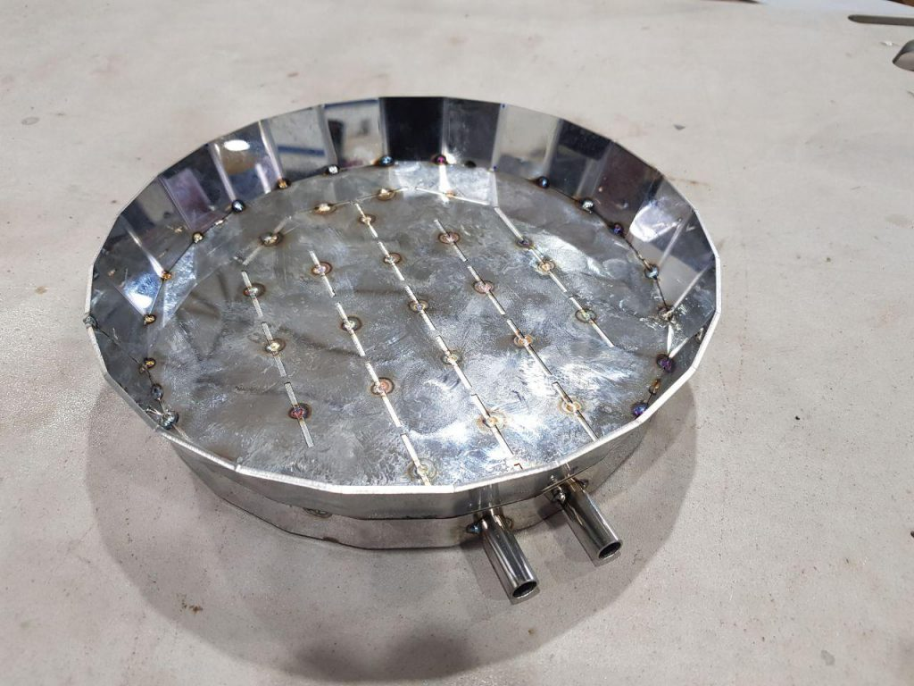 Laboratory heat exchanger, photo 1