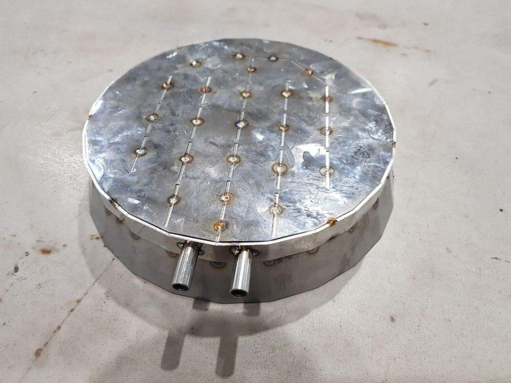 Laboratory heat exchanger, photo 2