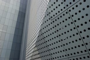 Перфорированные панели вентилируемых фасадов