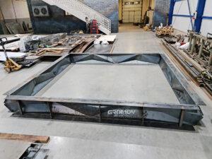 Parametric metal formwork
