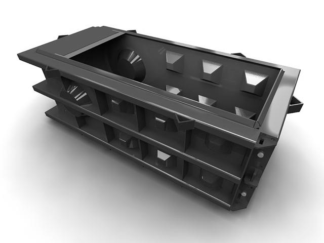 Опалубка (металлоформы) для LEGO-блоков